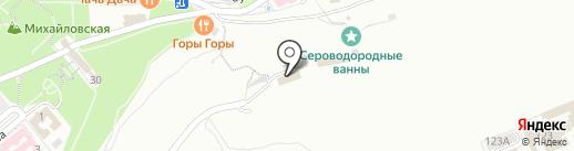 Панорама на карте Пятигорска