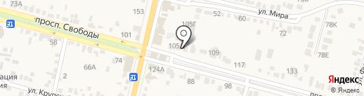 Банк пива на карте Железноводска