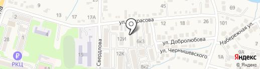 Маргаритка на карте Железноводска