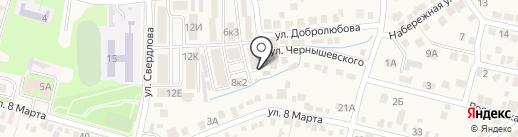 Орфей на карте Железноводска