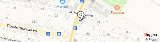 Механик на карте Железноводска