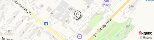 Фьорд на карте Железноводска