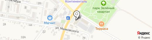 Жемчужина на карте Железноводска