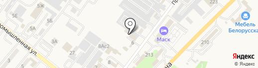 Хозстройматериалы на карте Железноводска