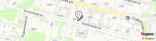 Торговая компания на карте Железноводска