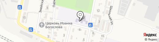 Детский сад №9 на карте Анджиевского