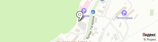 Аллерго на карте Пятигорска