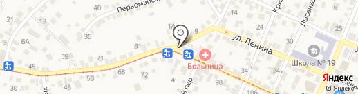 Вердикт на карте Горячеводского