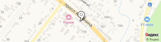Магазин автозапчастей на карте Пятигорска
