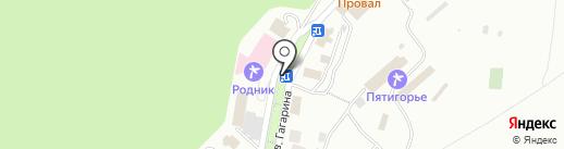 Кофейный домик на карте Пятигорска