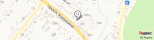 Шашлычный домик на карте Пятигорска