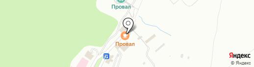 Провалъ на карте Пятигорска