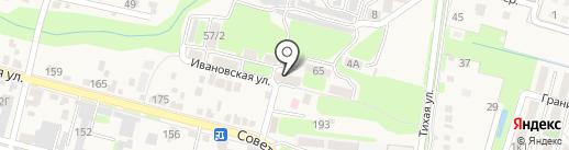Максим на карте Железноводска