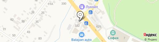 ЛюксАвто на карте Пятигорска