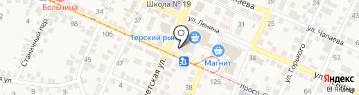 Банкомат, Евроситибанк, ПАО на карте Горячеводского