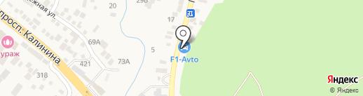 F1-avto.ru на карте Горячеводского