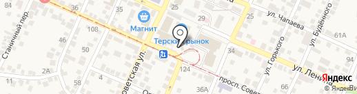 Часовня Новомученников и Исповедников Российских на карте Горячеводского