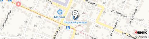 Банкомат, Ставропольпромстройбанк, ПАО на карте Горячеводского