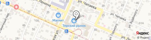 Мир автостёкол на карте Горячеводского