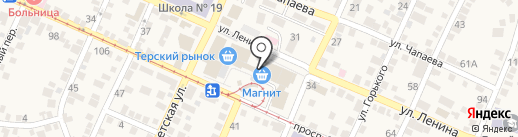 Магазин игрушек на карте Горячеводского