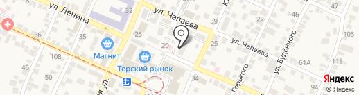 ПЯТИГОРЕЦ на карте Горячеводского