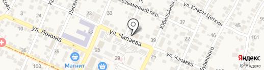 Пожарно-спасательная часть №16 на карте Горячеводского