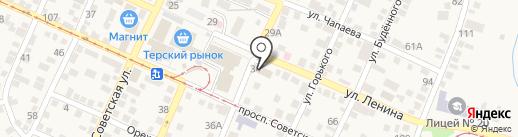 Банкомат, Сбербанк России на карте Горячеводского