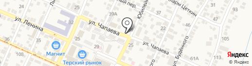 Продуктовый магазин на карте Горячеводского