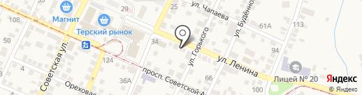 Участковый пункт полиции на карте Горячеводского
