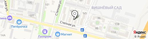 Вишневый Сад на карте Железноводска