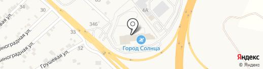 Город Солнца на карте Железноводска