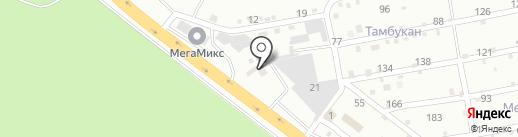 Глубокинский кирпичный завод на карте Пятигорска