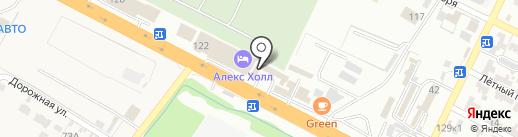 Магазин кузовных деталей на карте Минеральных Вод