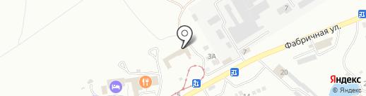 Октагон на карте Пятигорска