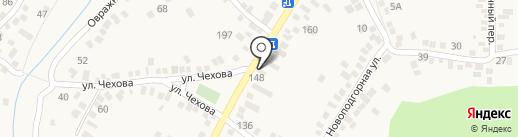 МастерГаз на карте Горячеводского