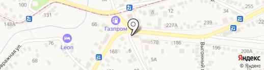 У Манечки на карте Горячеводского