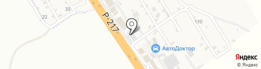 Daf на карте Железноводска