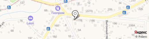 Детализация на карте Горячеводского