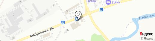 Текстиль на карте Пятигорска