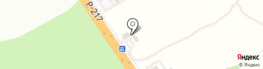 Автотехцентр КМВ на карте Пятигорска