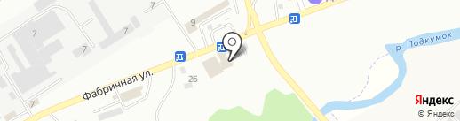 Шиномонтажная мастерская на карте Пятигорска