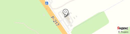 РусБизнесАвто на карте Пятигорска
