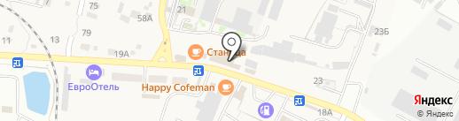Ставропольэнергосбыт на карте Минеральных Вод