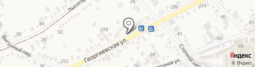 Арт Проект на карте Горячеводского