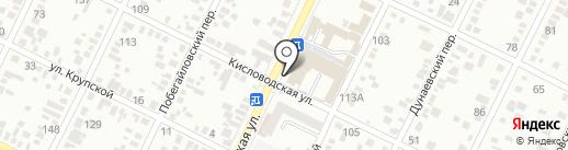 Банкомат, Ставропольпромстройбанк, ПАО на карте Минеральных Вод