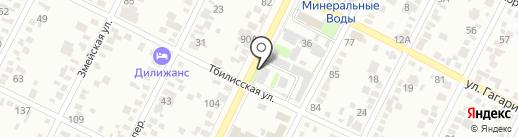 Ставрополькоммунэлектро, ГУП на карте Минеральных Вод