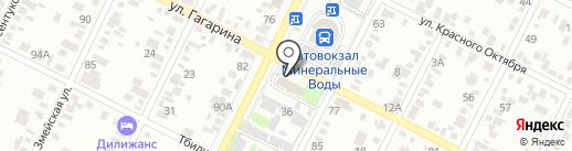 Центр по ЧС Минераловодского городского округа на карте Минеральных Вод
