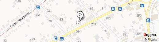 Магазин цветов на карте Горячеводского