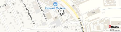 Лидер на карте Пятигорска