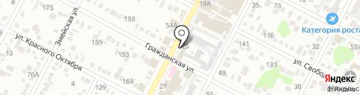 Аварийно-диспетчерская служба на карте Минеральных Вод